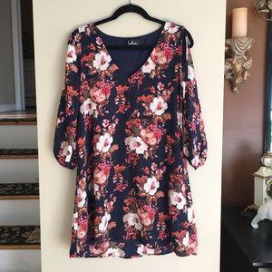 Lulus Floral Shift Dress